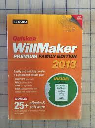 quicken willmaker premium family edition pc factory sealed quicken willmaker premium family edition 2013 pc factory