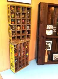 shot glass display shelves shot glass display shelf antique carton made into shot glass holder way