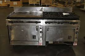 wolf double oven. Image Is Loading Wolf-Range-6-Burner-Griddle-Double-Oven-FV363- Wolf Double Oven S