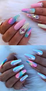 1001 ideas for nail designs suitable every shape bright colors cute nails
