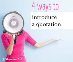 When To Use Comma When To Use Commas Before Quotations