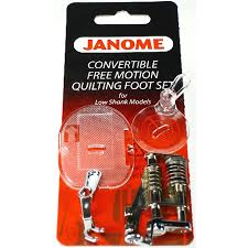 Convertible Free Motion Foot Set (Low Shank), Janome #202002004 ... & Convertible Free Motion Foot Set (Low Shank), Janome #202002004 Adamdwight.com