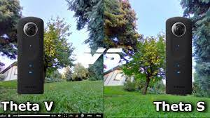 Ricoh Theta V and Ricoh Theta S photo quality comparison - YouTube