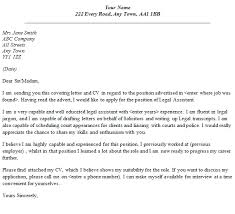 Legal Assistant Cover Letter Examples 63 Images Best