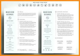 11 12 Two Pages Resume Samples Lasweetvida Com
