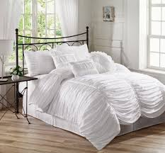 Sidney Comforter Set In White From Bed Bath Beyond With White
