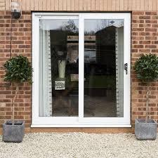 2 pane upvc patio doors