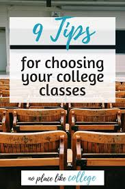 Block Scheduling Colleges 9 Tips For Choosing College Courses Hack You Course Schedule