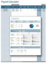 Paycheck Calculator For California Payroll Calculator Professional Payroll For Excel