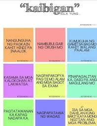 Tagalog Quotes About Friendship Beauteous Tagalog Quotes About Friendship Mesmerizing Cute Funny Friendship