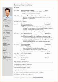 Make My Resume Resume format Civil Engineer Best Of Resume format Cv Sample at 53
