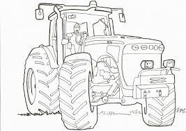 Coloriage De Tracteur John Deere A Imprimer Download Coloriage