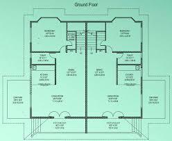 Fascinating 2 Bedroom Semi Detached House Plans Images   Plan 3D .