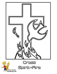 Small Picture Regal Easter Coloring Pages Easter Free Crucifixion Jesus