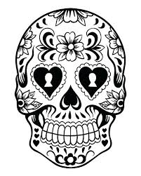Free Printable Sugar Skull Coloring Pages Free Coloring Library