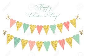 Sweet shabby chic valentines day decor ideas Crafts Cute Vintage Heart Shaped Glitter And Shabby Chic Style Bunting Flags Ideal For Valentines Day Giftsdetectivecom Cute Vintage Heart Shaped Glitter And Shabby Chic Style Bunting
