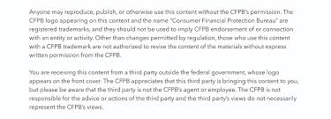 cfpb using your logo with your home loan toolkit disclaimer