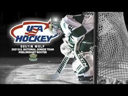 Dustin Wolf 2021 World Juniors Player Profile Team USA - YouTube