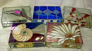 Stained Glass Jewelry Box Designs Stained Glass Jewelry Boxes Custom Designed Made To Order
