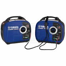 yamaha ef2000isv2. yamaha egd-yamaha2000kit2 ef2000isv2 2 inverter package w/ sidewinder 30-amp rv parallel cable kit ef2000isv2