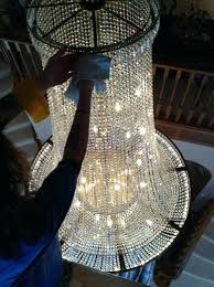 how to clean a chandelier chandelier cleaning clean chandelier with vinegar