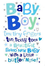 Card For Baby Boy Baby Boy Cards 6 Code 50 Se23951