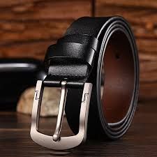 men s pin buckle leather belt casual wild wide leather belt men s jeans jeans belt male
