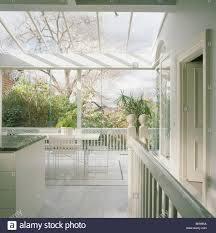 Large Kitchen Dining Room Large Modern White Kitchen Dining Room Extension With Glass Roof