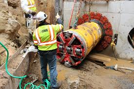 microtunneling. innovative solutions help complete tricky microtunneling project under belt parkway