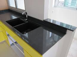 black granite counter top top mount or under mount kitchen sink