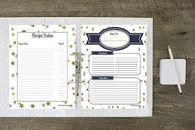 How To Make A Recipe Binder Free Recipe Binder Printables
