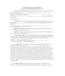 Printable Rental Agreement Template One Page Lease Agreement Template Original Printable