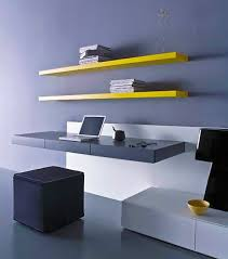 wall mounted office desk. Beautiful Wall Wall Mounted Modern Office Nazmiyal Intended Desk D