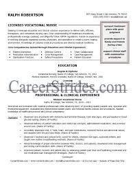 Cover Letter Sample Lpn Resume Objective Lpn Nursing Resume