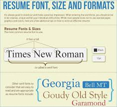 what font to use on resumes what font do you use for a resume globish me