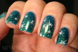 17 snowflake nail tutorials pretty