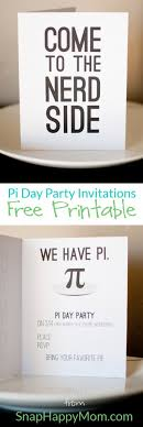 pi day invitation pi day invitations free download pies math and school