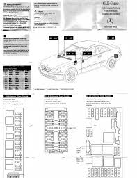 Mercedes Clk 320 Fuse Diagram Online Wiring Diagram