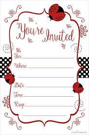 Ladybug Invitations Template Free Printable Baby Shower Invitation Templates Free Shower