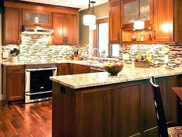 kitchen backsplash cherry cabinets. Interesting Cabinets Kitchen Backsplash Cherry Cabinets White Counter Black Ideas Cool  Engaging In Kitchen Backsplash Cherry Cabinets E