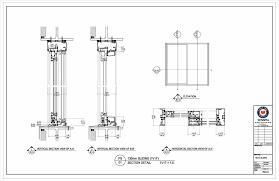 remarkable sliding patio door cad details images exterior ideas 3d