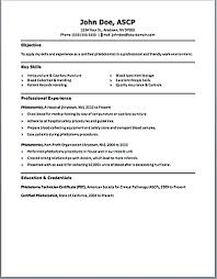 Free Phlebotomist Resume Templates Phlebotomy Resume Examples Free Resume Templates Phlebotomy Resume 1