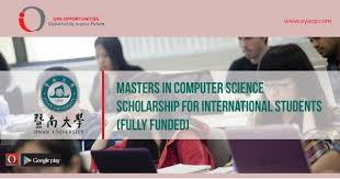 Masters In Computer Science Scholarship For International