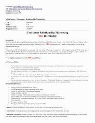 46 Fresh Mba Marketing Resume Format Awesome Resume Example
