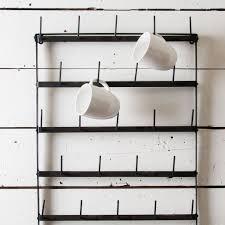 wall mounted mug rack 74 with wall mounted mug rack