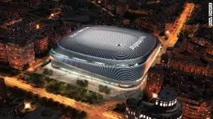 In december 2016, atletico announced that their new stadium would be called wanda metropolitano, with wanda being the sponsor name and metropolitano a reference to their first proper stadium is beautifull and metro is just outside. Real Madrid Planning The Best Stadium In The World With 600 Million Facelift Cnn