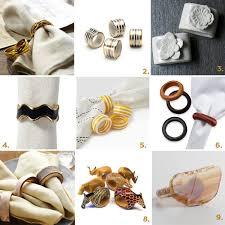 chic Holiday napkin rings