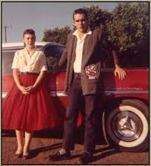Image result for 50s fashion teenage boy and girl