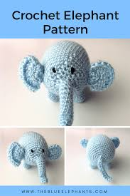 Crochet Stuffed Elephant Pattern Awesome Decorating Ideas