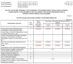 Новая форма ФСС за квартал года Новая форма 4 ФСС за 1 квартал 2017 года образец заполнения